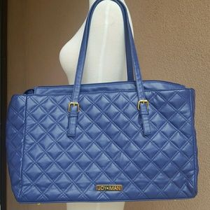 Quilted Large Joy & Iman Tote Bag
